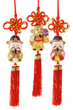 Chinese prosperity figurines poster