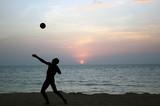 Fototapeta plaża - sport - Sporty Letnie