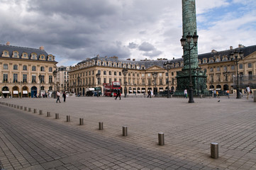Vendome Place in Paris