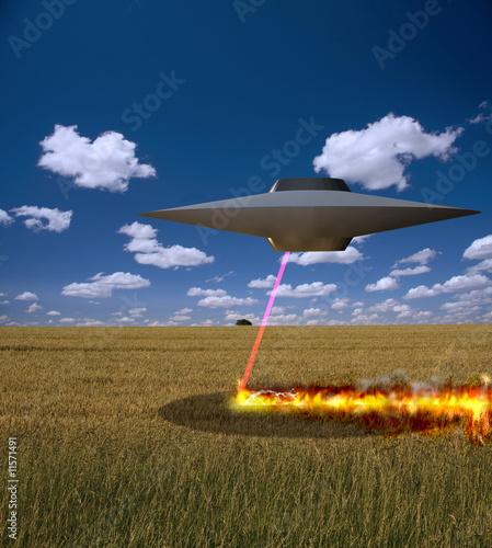 Foto op Canvas Alien