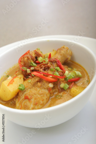 chicken curry asia food