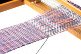 Weaving project poster
