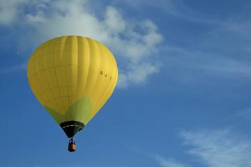 Heissluftballon Gelb Ballonfahrt
