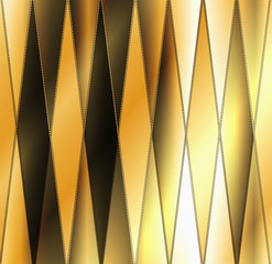 Geometrical golden background