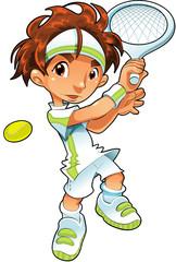Baby Tennis Player