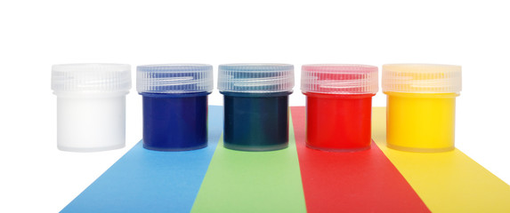 Multicolored Paint