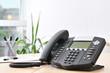 Leinwanddruck Bild - Advanced VoIP Phone