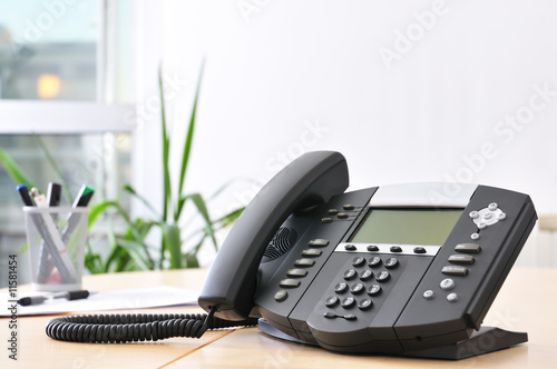 Leinwanddruck Bild Advanced VoIP Phone