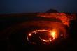 Leinwandbild Motiv Lavasee am Vulkan Erta Ale, Äthiopien