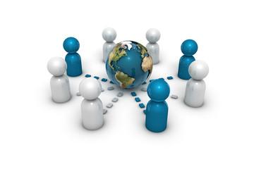 Kommunikation Welt 2