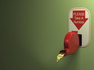 Ticket Dispenser