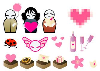 liebe symbol valentinstag