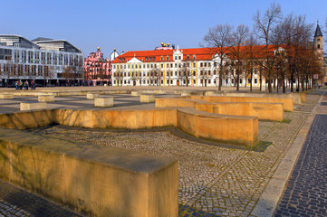 Magdeburg, Domplatz, Landtag