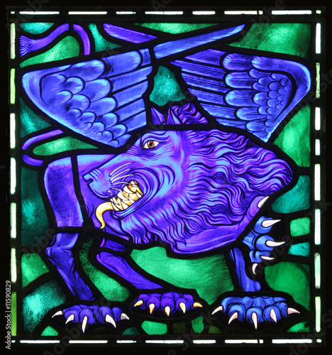 St. Mark's Winged Lion Evangelical Symbol