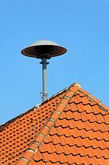 Sirene auf Hausdach