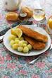 ������, ������: Cotolette di sampietro e patate Secondi di pesce del veneto