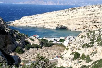 Côte crétoise en Grèce