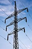 electric transmission line poster