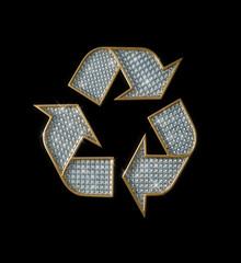reciclado con diamantes