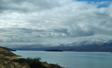 nowhere land-Lake Tekapo-three-New Zealand