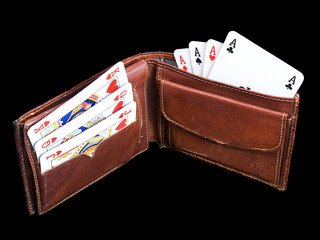 Gambling wallet