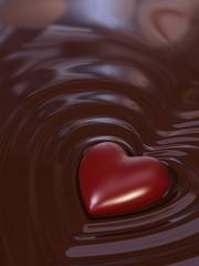 Cioccolato e cuore