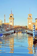 Italy, Venice rio of Arsenale