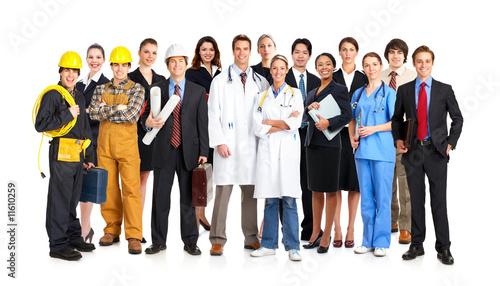 Leinwanddruck Bild Workers