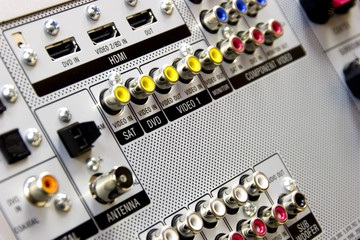 Audio video Inputs