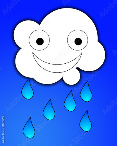 Happy Rain Cloud 5