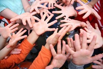 Children`s hands