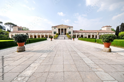 Ancient luxurious villa