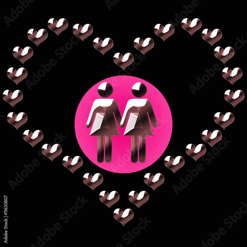 lesbianas enamoradas