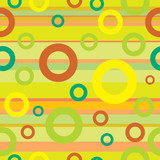 Seamless colorful vintage background