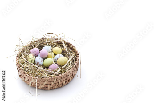 Nest of Coloured Eggs (2)