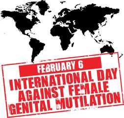 february 6 - international day against female mutilation