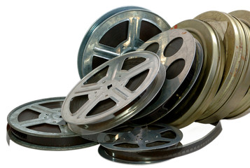 Old film, cinema, 16mm, 35mm