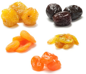 A collection of dried fruit