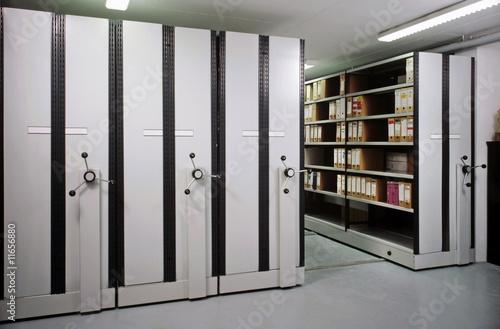 Leinwandbild Motiv salle d'archives