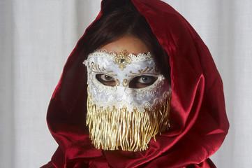"""Maschera veneziana """"Bianca"""""""