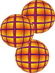 3 Sphere balls