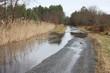 innondation d'une route - 11664601