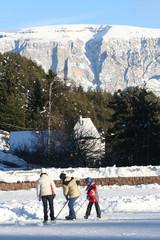 hockey in montagna