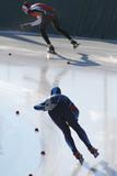 Fototapeta wyścig - zima - Sporty Zimowe
