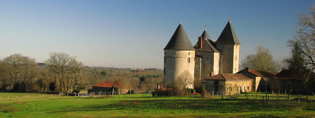 Château de Brie, Limousin, Périgord