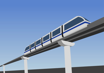 Monorail way