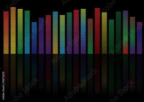 volume background. vector illustration