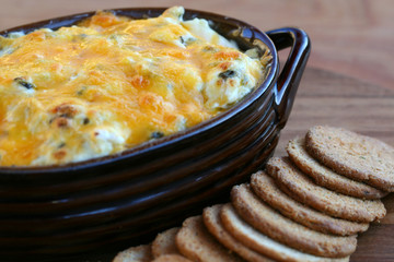 Appetizer - Hot Artichoke Spinach Dip