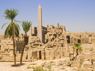 Karnak Temple. Thebes