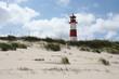 Leinwanddruck Bild - Leuchtturm List auf Sylt